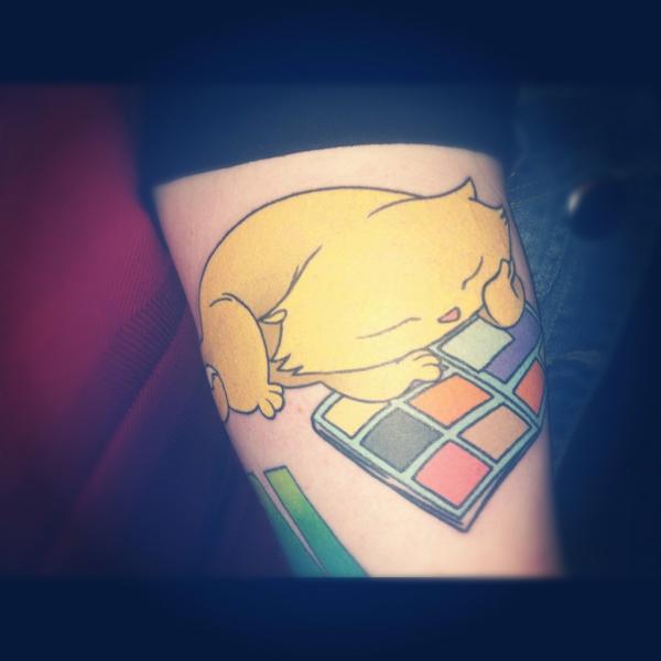 Anna Pederson's tattooo