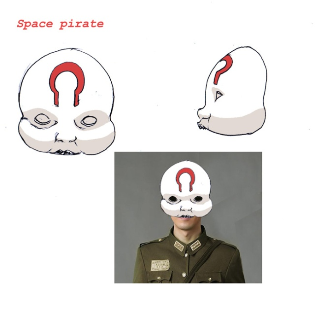 EMPEROR space pirate